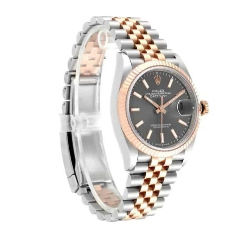 rolex-datejust-126231-steel-gold-automatic-grey-dial-replica-1