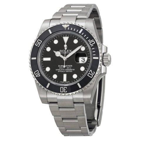 rolex-oyster-perpetual-submariner-black-dial-black-cerachrom-bezel-steel-mens-watch-116610ln